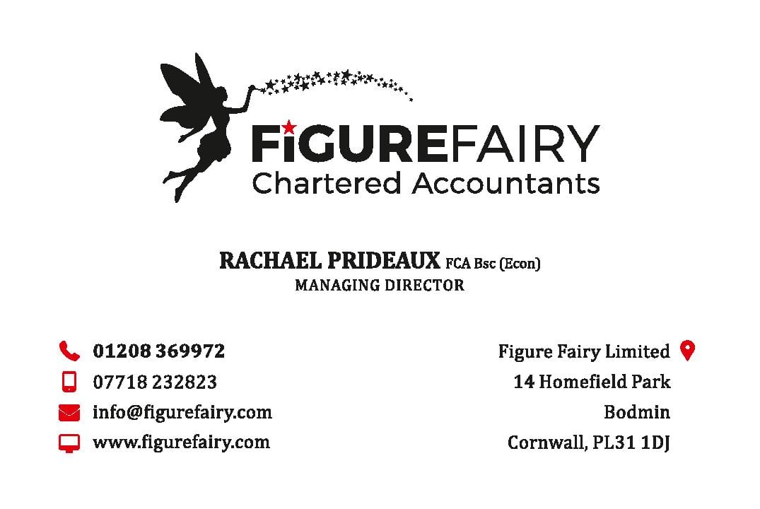 Graphic design in Plymouth  Figure Fairy Business Card