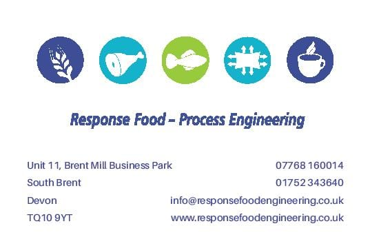 Graphic design in Plymouth  Response Business Card