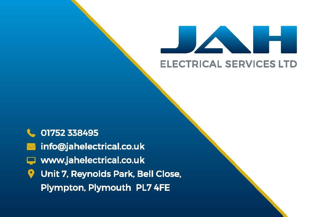 Graphic design in Plymouth  JAH Business Card